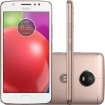 Smartphone Motorola XT1763 E4 Ouro Rosê 16 GB -