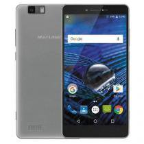 "Smartphone Ms70 Multilaser 64gb Octacore 5.85"" 3gb Raw Prata Nb264 -"