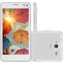 Smartphone Multilaser MS50 Colors 3G, Quad Core, 8MP, 16GB, Dual Chip, Branco - NB221 - Multilaser