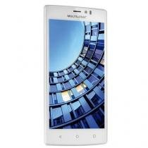 Smartphone Multilaser Ms60 Colors Dual P9006 Branco + 2 Capas E 1 Microsd 16gb -