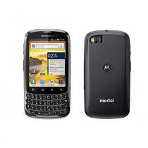 Smartphone Nextel Master Motorola XT605, Single, 3G, Android, Câm 5MP, Wi-Fi Prata e Cinza -