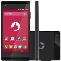Smartphone Positivo Selfie Dual S455 Preto - Android 5.0 Lollipop, 8gb, Câmera 5mp, Tela 4.5 - Positivo
