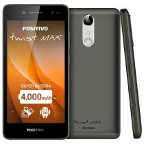 "Smartphone Positivo Twist Max Tela 5"" 3G Android 7.0 16GB - Cinza -"