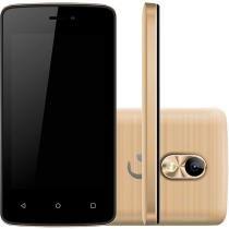 Smartphone Positivo Twist Mini Dual Chip Dual Core 3G Android 6.0 8GB Dourado -
