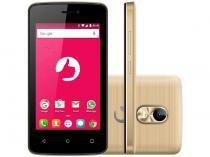 """Smartphone Positivo Twist Mini S430 8GB Dourado - Dual Chip 3G Câm. 8MP Tela 4"""" Desbl."""