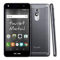 "Smartphone Positivo Twist S530 - Android 7.0 3G 5.2"" 16GB Câmera 8MP - Cinza -"