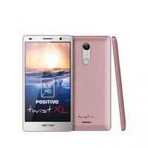 "SMARTPHONE POSITIVO TWIST XL S555 dual chip tela 5.5"" 16gb câmera 8mp quadcore android 7.0, ROSA - 3 -"