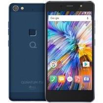 "Smartphone quantum fly 4g 32gb azul decacore 3gb ram câmera traseira 16mp tela full hd 5.2"" -"