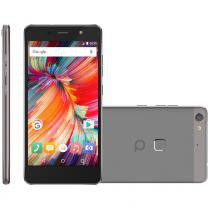 Smartphone quantum fly q7, dual chip, 32gb, 16mp, 4g, cinza - Fly