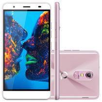 "Smartphone Quantum Müv 16GB Cherry Blossom - Dual Chip 4G Câm. 13MP + Selfie 8MP Tela 5,5"" HD"