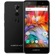 Smartphone Quantum MUV UP 4G 32GB Asphalt Octacore 3GB RAM Dual Cam 13MP Tela HD 5.5 Android 7