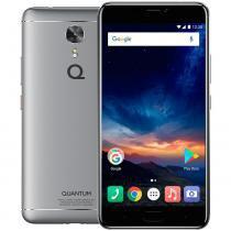"""Smartphone Quantum SKY 4G 64 GB Prata Octa 4 GB RAM Câmeras 13/16 MP Tela Full HD 5,5"""" Android 7 - Quantum"""
