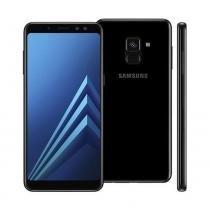 Smartphone Samsung A8 64GB Tela 5.5 Câmera 16MP A730 - Samsung celulares