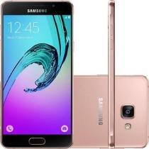 Smartphone Samsung Galaxy A5 2016 Dual Chip Android 5.1 Tela 5.2 16GB 4G Câmera 13MP - Rosé -
