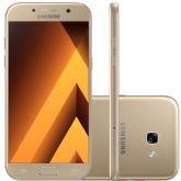 "Smartphone Samsung Galaxy A5 2017, Dourado, A520, Tela de 5.5"",64GB, 13MP -"