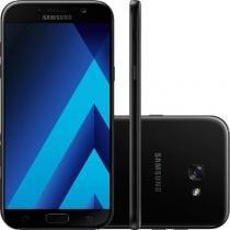 """Smartphone Samsung Galaxy A5 (2017) Preto 5,2"""" Câmera de 16MP 32GB Dual Chip 3GB de RAM -"""