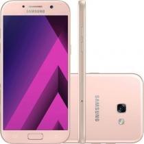 """Smartphone Samsung Galaxy A5 (2017) Rosa 5,2"""" Câmera de 16MP 32GB Dual Chip 3GB de RAM -"""