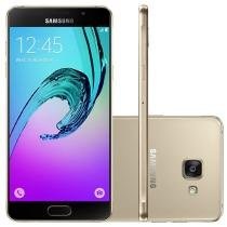 Smartphone Samsung Galaxy A5 Duos A-510 4G 16GB Tela 5.2 Android 5.1 Câmera 13MP -