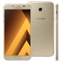 "Smartphone Samsung Galaxy A7, 64GB, 5.7"", 4G, 16MP, Android 6.0 - Dourado -"