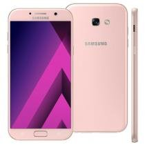 """Smartphone Samsung Galaxy A7, 64GB, 5.7"""", 4G, 16MP, Android 6.0 - Rosa -"""