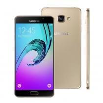 "Smartphone Samsung Galaxy A7, Dual Chip, 5.5"", 4G, Android 5.1, 13MP - Dourado -"
