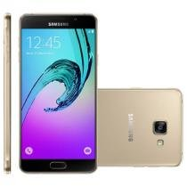 Smartphone Samsung Galaxy A7 Duos Dourado, 4G, 16GB, 13MP - A710M/DS - Sansung
