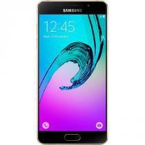 "Smartphone Samsung Galaxy A7, Tela 5.5"", Octa-core 1,6Ghz, 4G, NFC, 3GB RAM, 16GB, 13MP - Dourado -"