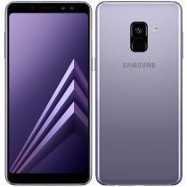 "Smartphone Samsung Galaxy A8, Dual Chip, Ametista, Tela 5.6"", 4G+WiFi+NFC, Android 7.1, Câmera Frontal Dupla 16MP + 8MP e 64GB -"