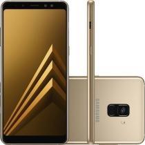 Smartphone Samsung Galaxy A8 Plus Dual Chip Android 7.1 Tela 6 Polegadas Octa-Core 2.2GHz 64GB 4G Câmera 16MP -