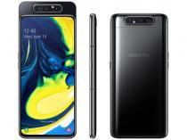"Smartphone Samsung Galaxy A80 128GB Preto 4G - Octa-Core 8GB RAM 6,7"" Câmera Tripla Rotativa"