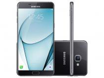 "Smartphone Samsung Galaxy A9 32GB Preto Dual Chip - 4G Câm. 16MP + Selfie 8MP Tela 6"" FHD Octa Core"