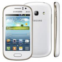 Smartphone Samsung Galaxy Fame Duos S6812 4GB Tela 3.5 Android 4.1 Câmera 5MP Open GT-S6812PWPZTO -