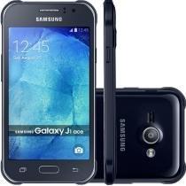 Smartphone Samsung Galaxy J1 Ace 4 4GB Tela 4.3 Android 4.4 Câmera 5MP Dual Chip SM-J110LZWQZTO -