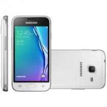Smartphone samsung galaxy j1 mini, dual chip, 8gb, 5mp, 3g, branco - j105 - Sansung