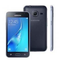 """Smartphone samsung galaxy j1 mini duos preto com dual chip, tela 4.0"""", 3g, câmera de 5mp, android 5.1 e processador quad core de 1.2 ghz -"""