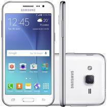 """Smartphone Samsung Galaxy J2 Duos 8GB Dual Chip - 4G Câm. 5MP Tela 4.7"""" Proc. Quad Core Desbl. Oi"""