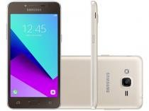 Smartphone Samsung Galaxy J2 Prime 16GB Dourado - Dual Chip 4G Câm. 8MP + Selfie 5MP Flash Tela 5""