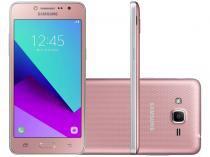 "Smartphone Samsung Galaxy J2 Prime 16GB Rosa - Dual Chip 4G Câm. 8MP + Selfie 5MP Flash Tela 5"""