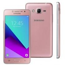 """Smartphone samsung galaxy j2 prime rosa com 8gb, dual chip, tela 5"""", 4g, câmera 8mp, android 6.0 e processador quad core de 1.4 ghz -"""