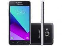 "Smartphone Samsung Galaxy J2 Prime TV 16GB Preto - Dual Chip 4G Câm. 8MP + Selfie 5MP Tela 5"" Quad HD"