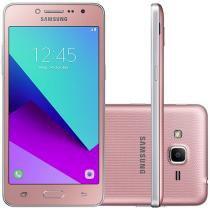 "Smartphone Samsung Galaxy J2 Prime TV 16GB Rosa - Dual Chip 4G Câm. 8MP + Selfie 5MP Tela 5"" Quad HD"