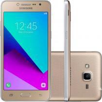 """Smartphone Samsung Galaxy J2 Prime TV Dourado 5"""" 8GB Dual Chip Quad Core 4G Câmera 8MP - Samsung"""
