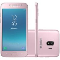 Smartphone Samsung Galaxy J2 Pro 16GB Rosa Dual Chip 4G Câm. 8MP + Selfie 5MP Flash Tela 5""