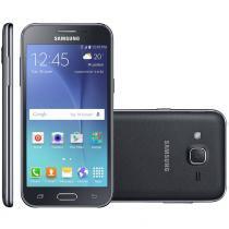 Smartphone samsung galaxy j200 sm-j200 tela 4.7 android 5.1 tv digital câmera 5mp dual chip - Samsung