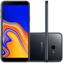 Smartphone Samsung Galaxy J4+ 32GB Dual Chip Tela 6 Câmera 13MP 5MP Android 8.1 Preto -