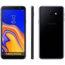 """Smartphone Samsung Galaxy J4 Core 16GB Preto 4G - Quad-Core 1GB RAM 6"""" Câm. 8MP + Câm. Selfie 5MP"""