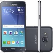 Smartphone Samsung Galaxy J5 Duos 16GB Preto Dual Chip 4G Câm. 13MP + Selfie 5MP com Flash