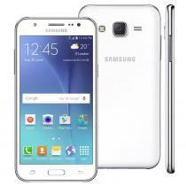 """Smartphone samsung galaxy j5 duos branco com dual chip, tela 5.0"""", 4g, câmera 13mp, android 5.1 e processador quad core de 1.2 ghz -"""