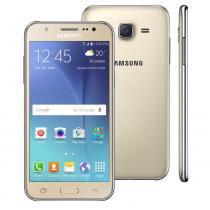 Smartphone Samsung Galaxy J5 Duos J500M, Dourado, Tela 5, 4G + WiFi, Android 5.0, 13MP, 16GB - Samsung
