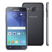 """Smartphone samsung galaxy j5 duos preto com dual chip, tela 5.0"""", 4g, câmera 13mp, android 5.1 e processador quad core de 1.2 ghz -"""